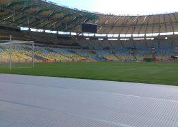 Alveosport installed at Maracana Stadium