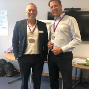 ESTC DG Stefan Diderich with Eric O'Donnell - Sports Labs